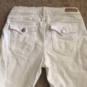 White True Religion Jeans